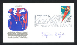 Steve Benjamin Autographed First Day Cover Olympic Yachtsman SKU #159607
