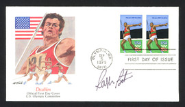 Ralph Boston Autographed First Day Cover Olympic Long Jumper SKU #159612
