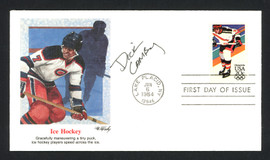 Dick Lamby Autographed First Day Cover 1976 Olympics USA Hockey SKU #159617