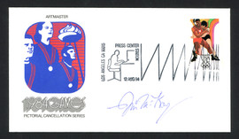 Jim McKay Autographed First Day Cover Olympics Wide World Of Sports SKU #159620