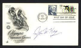 Jim McKay Autographed First Day Cover Olympics Wide World Of Sports SKU #159621