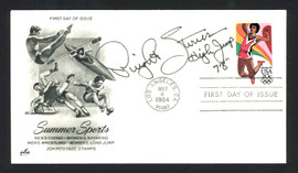 Dwight Stones Autographed First Day Cover Olympic High Jumper SKU #159631