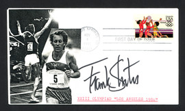 Frank Shorter Autographed First Day Cover 1972 Olympic Marathon SKU #159634