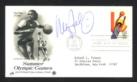 Nancy Lieberman-Cline Autographed First Day Cover Olympic Basketball SKU #159645