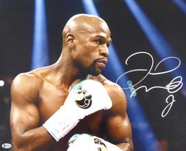 Floyd Mayweather Jr. Autographed 16x20 Photo Beckett BAS Stock #159714