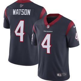 Deshaun Watson Unsigned Houston Texans Blue / White Twill Nike Size L SKU #159868