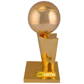 """Seattle SuperSonics 1979 NBA Finals Champions 12"""" Replica Larry O'Brien Trophy with Sublimated Plate Stock #159862"""