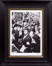 Muhammad Ali Autographed Framed 35x45 Photo 1966 One In A Million #/275 Beckett BAS #A53348