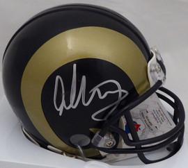 Todd Gurley Autographed Los Angeles Rams Mini Helmet Beckett (Smudged) BAS #J87544