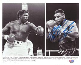 Mike Tyson Autographed 8x10 Photo Vintage PSA/DNA #Q65747