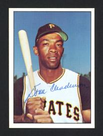 Donn Clendenon Autographed 1978 TCMA Card #237 Pittsburgh Pirates SKU #161944