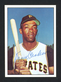 Donn Clendenon Autographed 1978 TCMA Card #237 Pittsburgh Pirates SKU #161946