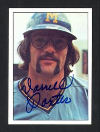Darrell Porter Autographed 1975 SSPC Card #232 Milwaukee Brewers SKU #161997