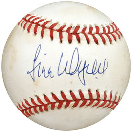 Jim Wynn Autographed Official NL Baseball New York Yankees, Los Angeles Dodgers PSA/DNA #H75580
