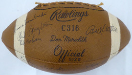 "1962 NFL Champions Green Bay Packers Autographed Football With 39 Signatures Including Johnny ""Blood"" McNally, Vince Lombardi & Bart Starr Beckett BAS #A53869"