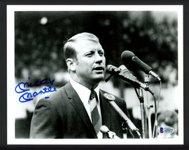 Mickey Mantle Autographed 8x10 Photo New York Yankees Auto Grade 10 Beckett BAS #A59177
