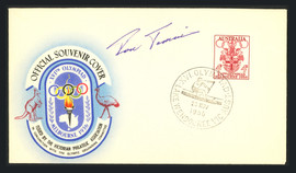 Ron Tomsic Autographed First Day Cover 1956 USA Olympics Gold SKU #164933