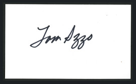Tom Izzo Autographed First Day Cover Michigan State Spartans SKU #164951