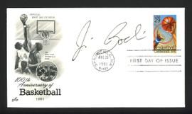 Jim Boeheim Autographed First Day Cover Syracuse Orange SKU #164953