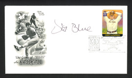Vida Blue Autographed First Day Cover Oakland A's SKU #164964