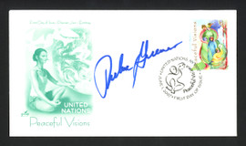 Richie Guerin Autographed First Day Cover St. Louis Hawks SKU #164979