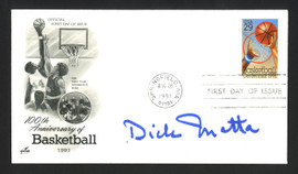Dick Motta Autographed First Day Cover Dallas Mavericks SKU #164988