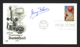 George Blaney Autographed First Day Cover Seton Hall Pirates SKU #165006