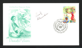 Dick Garmaker Autographed First Day Cover Minneapolis Lakers SKU #165018