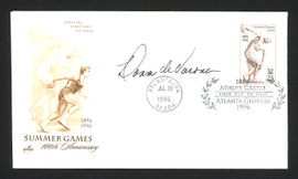 Donna De Varona Autographed First Day Cover Swimmer SKU #165047