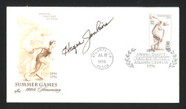 Hayes Jenkins Autographed First Day Cover 1956 Olympics SKU #165051
