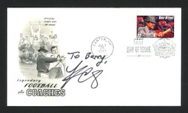 """Kirk Cousins Autographed First Day Cover Minnesota Vikings """"To Barry"""" SKU #165065"""