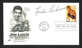 Ferdie Pacheco Autographed First Day Cover Fight Doctor SKU #165084