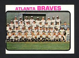 Jim Hardin Autographed 1973 Topps Card #521 Atlanta Braves SKU #165355