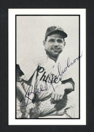 Bill Nicholson Autographed 1983 CCC 1953 Bowman Reprint Card #14 Philadelphia Phillies SKU #165589