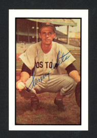 Sammy White Autographed 1983 CCC 1953 Bowman Reprint Card #41 Boston Red Sox SKU #165595