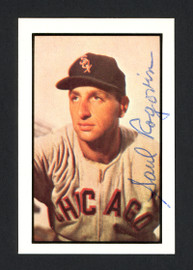 Saul Rogovin Autographed 1983 CCC 1953 Bowman Reprint Card #75 Chicago White Sox SKU #165656