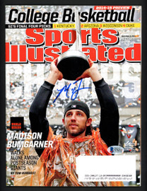 Madison Bumgarner Autographed Sports Illustrated Magazine San Francisco Giants Beckett BAS #S76212