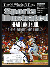Jon Jay Autographed Sports Illustrated Magazine Chicago Cubs Beckett BAS #S76251