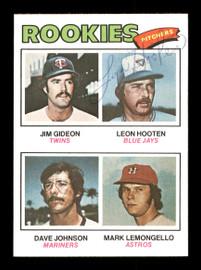 Leon Hooten Autographed 1977 Topps Rookie Card #478 Toronto Blue Jays SKU #166924