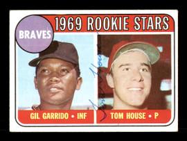 Tom House Autographed 1969 Topps Rookie Card #331 Atlanta Braves SKU #167030