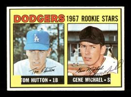 Gene Michael Autographed 1967 Topps Rookie Card #428 Los Angeles Dodgers SKU #167048