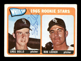 Greg Bollo Autographed 1965 Topps Rookie Card #541 Chicago White Sox SKU #167062