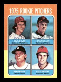 Jack Kucek & Dyar Miller Autographed 1975 Topps Rookie Card #614 SKU #167701