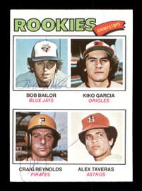 Craig Reynolds & Bob Bailor Autographed 1977 Topps Rookie Card #474 SKU #167748