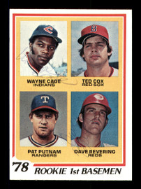 Wayne Cage & Dave Revering Autographed 1978 Topps Rookie Card #706 SKU #167813