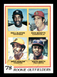 Keith Smith & Mike Easler Autographed 1978 Topps Rookie Card #710 SKU #167824