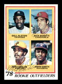 Mike Easler & Rick Bosetti Autographed 1978 Topps Rookie Card #710 SKU #167827