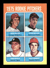 Jack Kucek Autographed 1975 Topps Rookie Card #614 Chicago White Sox SKU #168520