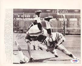 Paul Flatley Autographed 8x10 Wire Photo Minnesota Vikings PSA/DNA #S28715