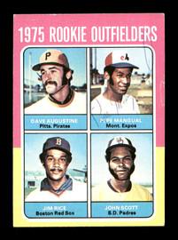 Pepe Mangual Autographed 1975 Topps Mini Rookie Card #616 Montreal Expos SKU #168687